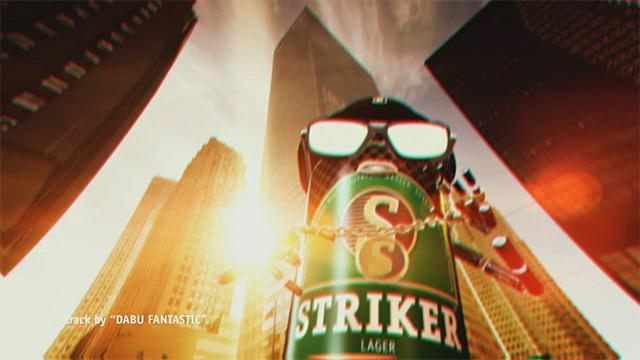Striker Beer Commercial