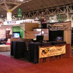 Motion4U booth @ Siggraph 2009