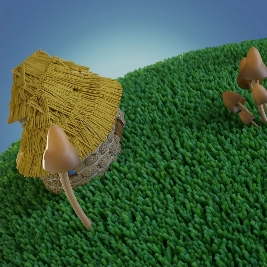 3D Little Planet - Closeup Cam